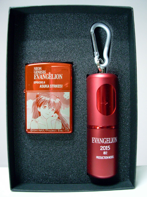 惣流・アスカ・ラングレーZippoライター Type-RED-02